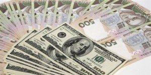 Гривна дорожает к доллару